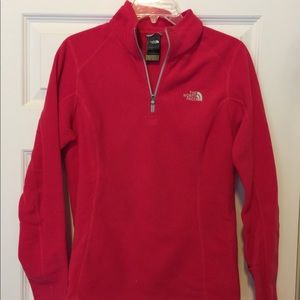 Quarter zip North Face